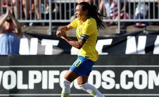 Samedi à l'Allianz Riviera, Marta sera la grande absente côté brésilien.