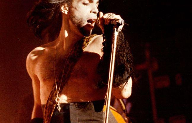 Prince, le 2 mai 1990.