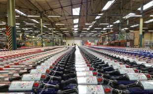 L'entreprise basée en Alsace travaille pour Carrefour, Leclerc, Auchan ou encore Aldi.