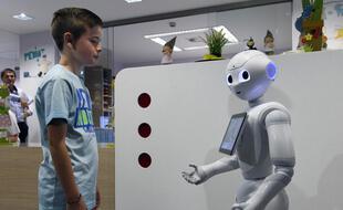 Le robot Pepper tire sa révérence