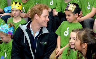 Le Prince Harry, en Nouvelle-Zélande, le 10 mai 2015.