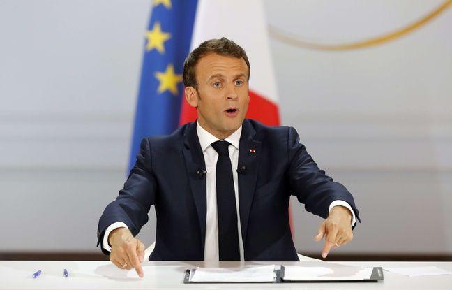 VIDEO. Conférence de presse de Macron: Le chef de l'Etat veut mettre en place un «conseil de défense écologique»