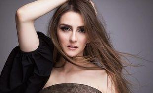 Jana Burceska, candidate de la Macédoine à l'Eurovision.