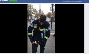 Le coup de gueule de ce pompier professionnel est devenu viral mercredi.