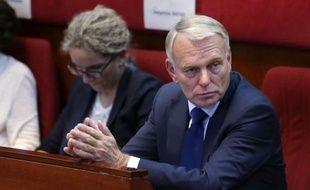 """Le Premier ministre, Jean-Marc Ayrault, a déclaré dimanche qu'il avait """"un moral d'acier"""" et qu'il n'était """"pas du tout"""" atteint par les critiques, y compris celles venant de son propre camp."""