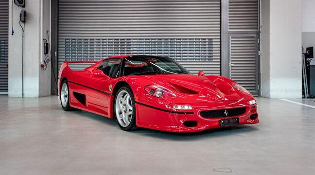 Sebastian Vettel vend sa sublime collection de voitures