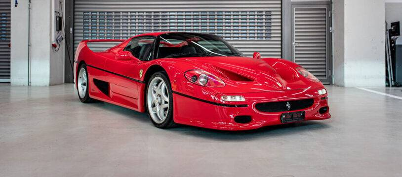 Ferrari F50 ex-Vettel