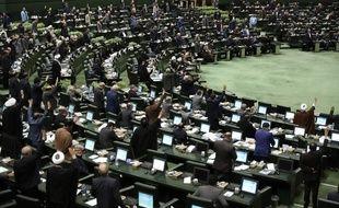 Le parlement iranien, à Téhéran, le 7 janvier 2020.