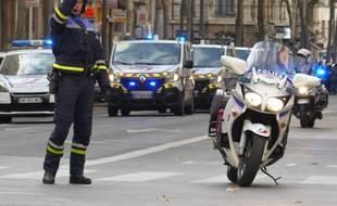 Lyon, le 6 novembre 2017. La conductrice a été interpellée après l'accident. Illustration.