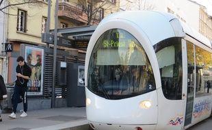 Un tram du réseau TCL à Lyon. (Illustration)