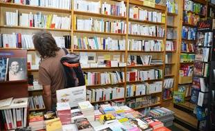 Photo d'illustration d'une librairie.