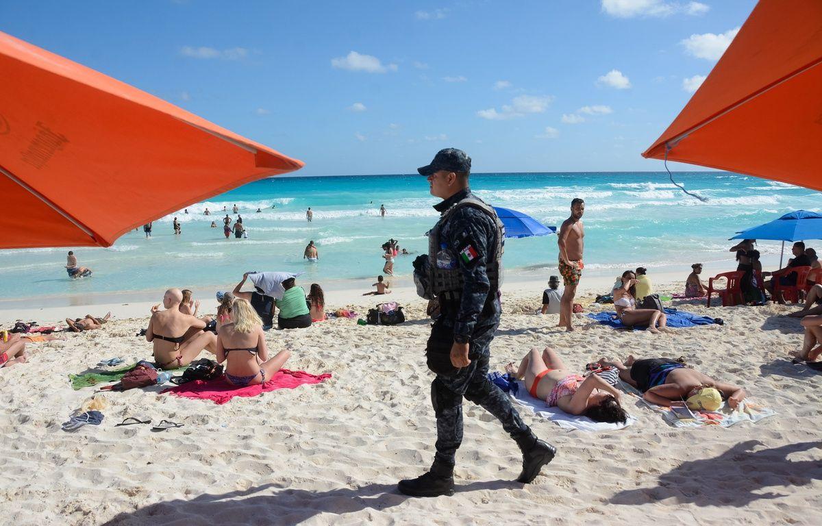 La ville touristique de Cancun est souvent en proie aux fusillades. En cause, le trafic de drogues. – STR/AFP