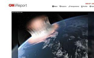 Le site d'iReport le 26 mai 2014.