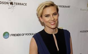 Scarlett Johansson à New York en novembre 2014.