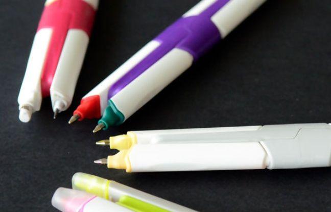 Le stylo personnalisable et multifonctions MyKamie, créé dans la région lyonnaise.