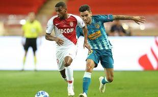 Monaco ouvre le score grâce à Samuel Grandsir.