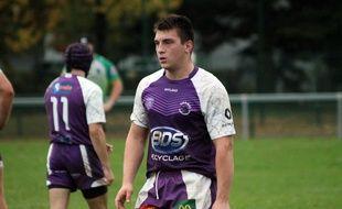 Nicolas Gigot est décédé dans la nuit de vendredi à samedi, a indiqué le club bressan.