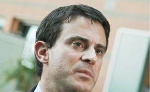 Le maire (PS) d'Evry, Manuel Valls.