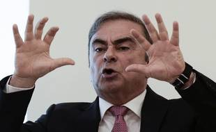 Carlos Ghosn à Beyrouth le 8 janvier 2020.