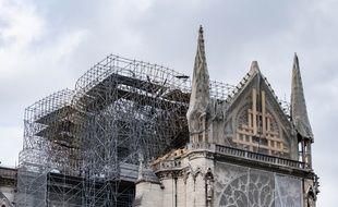 Interrompus depuis le 25 juillet en raison des risques de contamination au plomb, les travaux de consolidation de Notre-Dame redémarrent ce lundi.