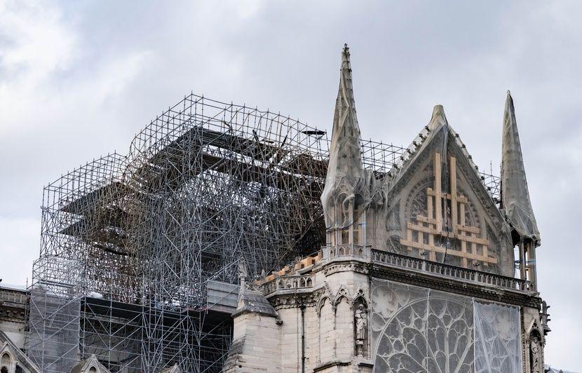 Incendie à Notre-Dame: Les travaux de consolidation de l'édifice reprennent ce lundi