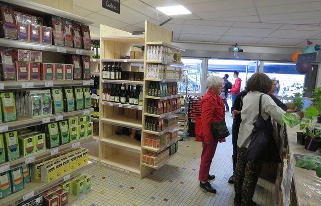 VIDEO. Rennes: Breizhicoop, premier supermarché coopératif de Bretagne, a ouvert ses portes