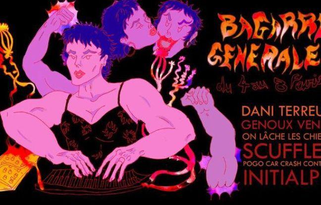 Visuel officiel du festival musical Bagarre Générale