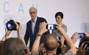 Michael Caine et Rachel Weisz le 20 mai à Cannes
