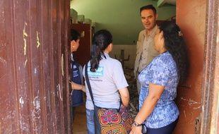 Manuel Patrouillard, le directeur général d'Handicap International ici en Colombie. L'ONG lyonnaise fête ses 35 ans.