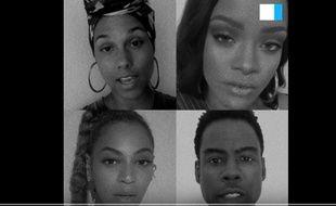 Alicia Keys, Beyonce et Rihanna dans un clip pour dénoncer le racisme contre les Noirs aux Etats-Unis.