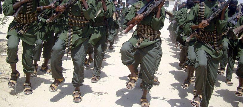 Des militants islamistes shebab en Somalie (illustration).