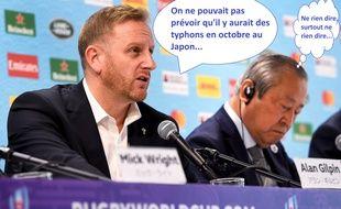 Alan Gilpin ne regrette pas la décision d'annuler deux matchs du Mondial de rugby.