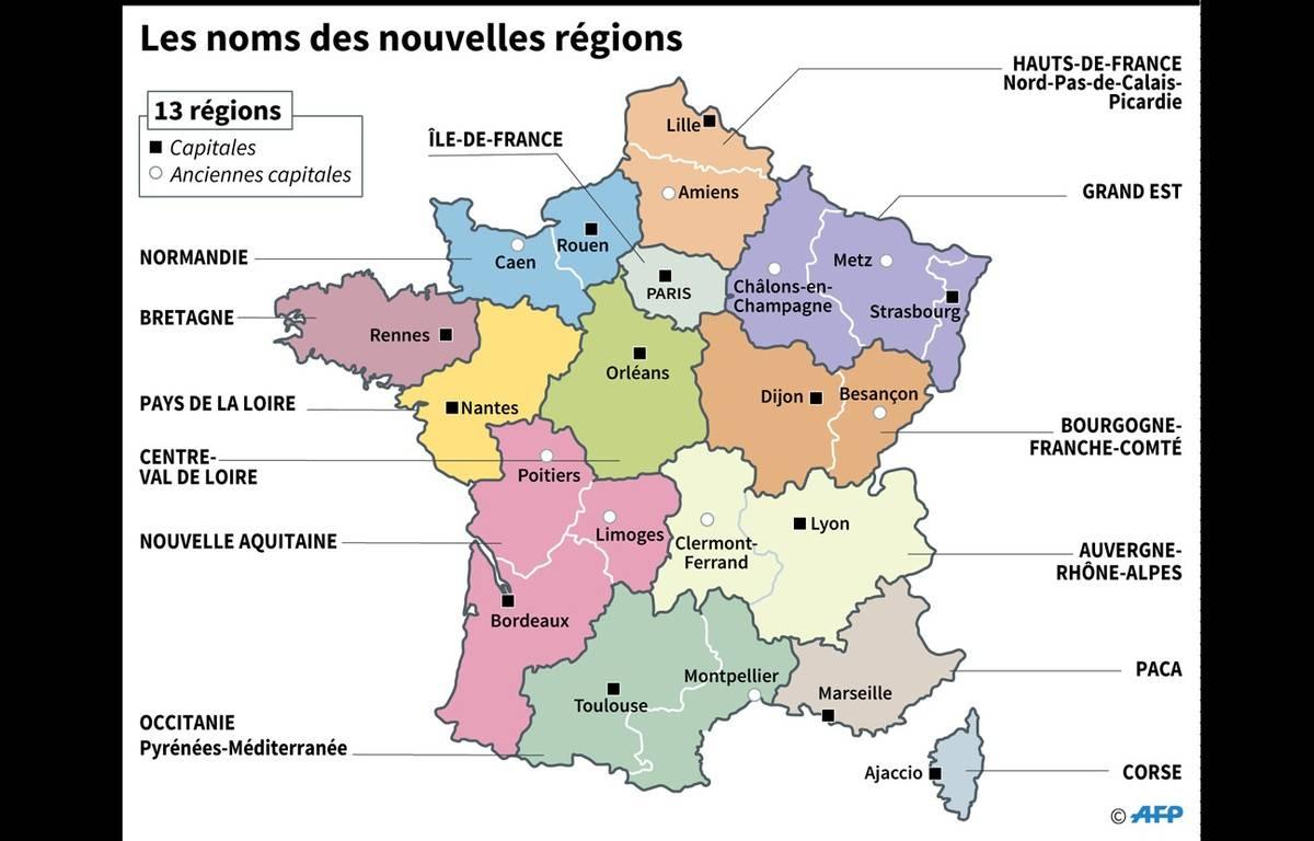 Carte De France Avec Le Noms Des Villes