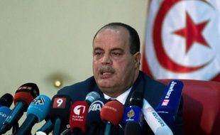 Le ministre tunisien de l'Intérieur Najem Gharsalli, le 12 juillet 2015 à Tunis