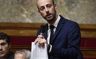 Le député de Paris Stanislas Guérini, ici le 24 octobre 2018 à l'Assemblée, est en passe de devenir le patron de La République en marche le 1er décembre 2018.