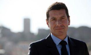 Le maire de Cannes David Lisnard, le 14 mars 2014