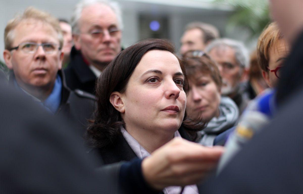 La ministre du Logement Emmanuelle Cosse, le 3 mars 2016 lors d'un déplacement à Rennes. – C. Allain / APEI / 20 Minutes