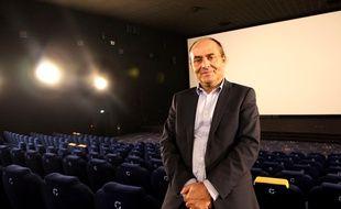 Yves Sutter, le PDG de la société Soredic, qui exploite les cinémas Cinéville. Ici à Vern-sur-Seiche, le 30 septembre 2019.