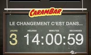 Le site Carambar.fr, le 21 mars 2013.