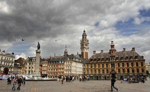 La Grand' place de Lille (illustration).