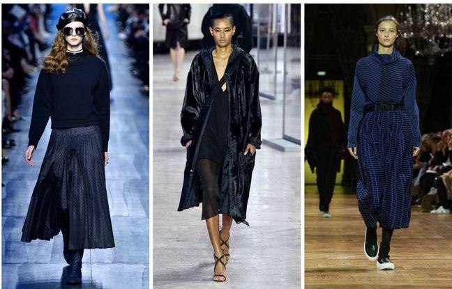 Défilé Dior, Akris et Issey Miyake.