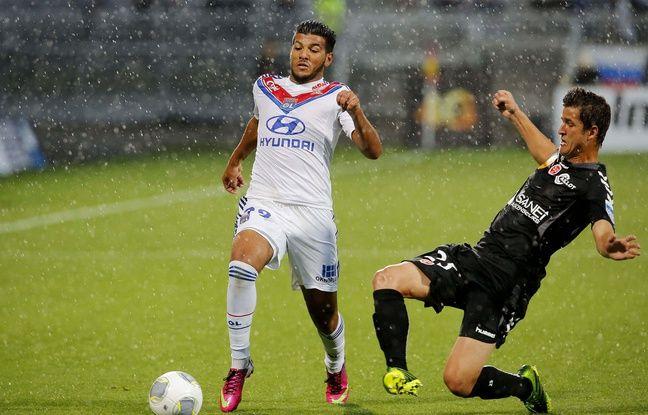 Farès Bahlouli n'a été titulaire qu'une seule fois en Ligue 1 avec l'OL, le 24 août 2013 face à Reims (0-1).