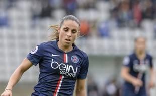 Jessica Houara-d'Hommeaux est au PSG depuis 2009.