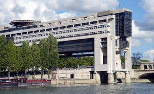 Le ministère de l'Economie et des Finances, le 9 août 2013 à Paris