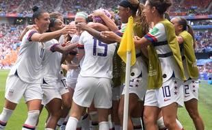 Les Américaines ont battu les Néerlandaises pour la finale de Coupe du monde de foot sur la pelouse de Lyon dimanche 7 juillet 2019.