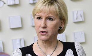 La ministre suédoise des Affaires étrangères  Margot Wallström, à Stockholm le 19 mars 2015