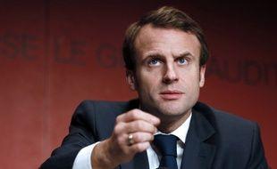 Emmanuel Macron, ministre de l'Economie, le 5 décembre 2014.