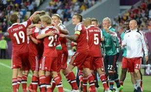 Le Danemark veut croire en ses chances de qualification pour les quarts de finale de l'Euro-2012, avant d'affronter l'ogre allemand, qui a déjà croqué le Portugal et les Pays-Bas, dimanche à Lviv (Ukraine), dans le groupe B.