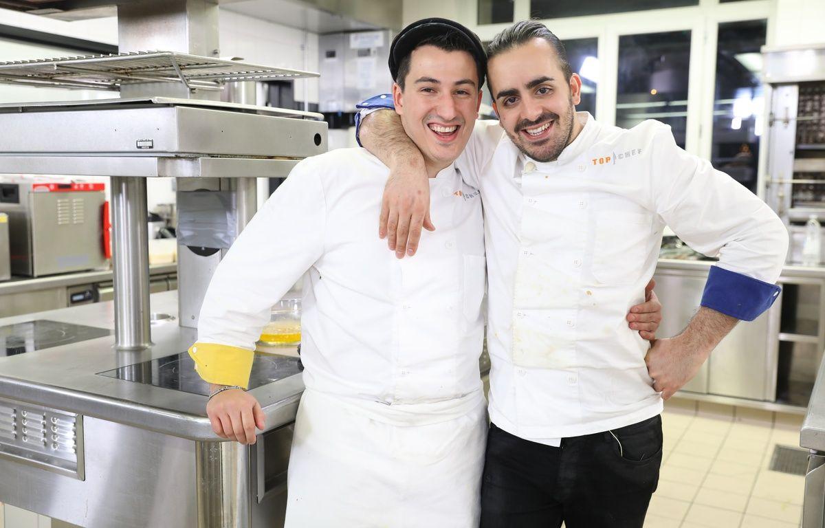 Jérémie et Franck, finalistes de la saison 8 de «Top Chef». – Marie ETCHEGOYEN/M6