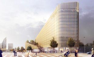 Le projet immobilier Shake, à Lille.